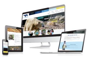henry vilas zoo web portfolio