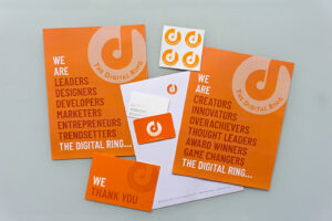 the digital ring letterhead